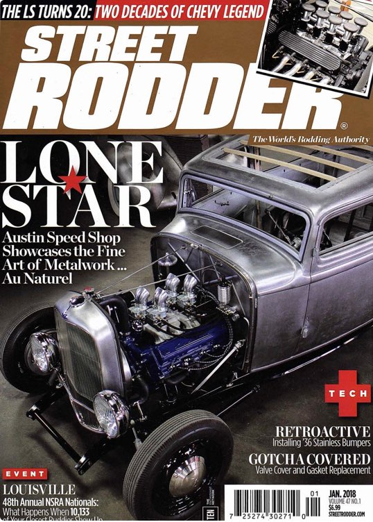 B'z Rods Featured In TC Street Rodder Magazine